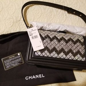 CHANEL Bags - Chanel mosaic flap boy bag